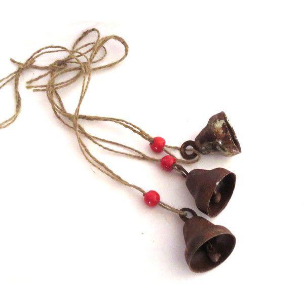 Small Decorative Bells Bellsvintage Bellsrusty Metalporch Decorsmall Bells