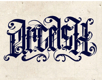 calligraphy by Dmitry Ske, via Behance