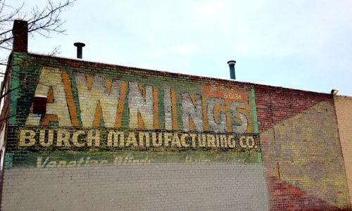 Burch Manufacturing Co. Ghost Sign in Denver
