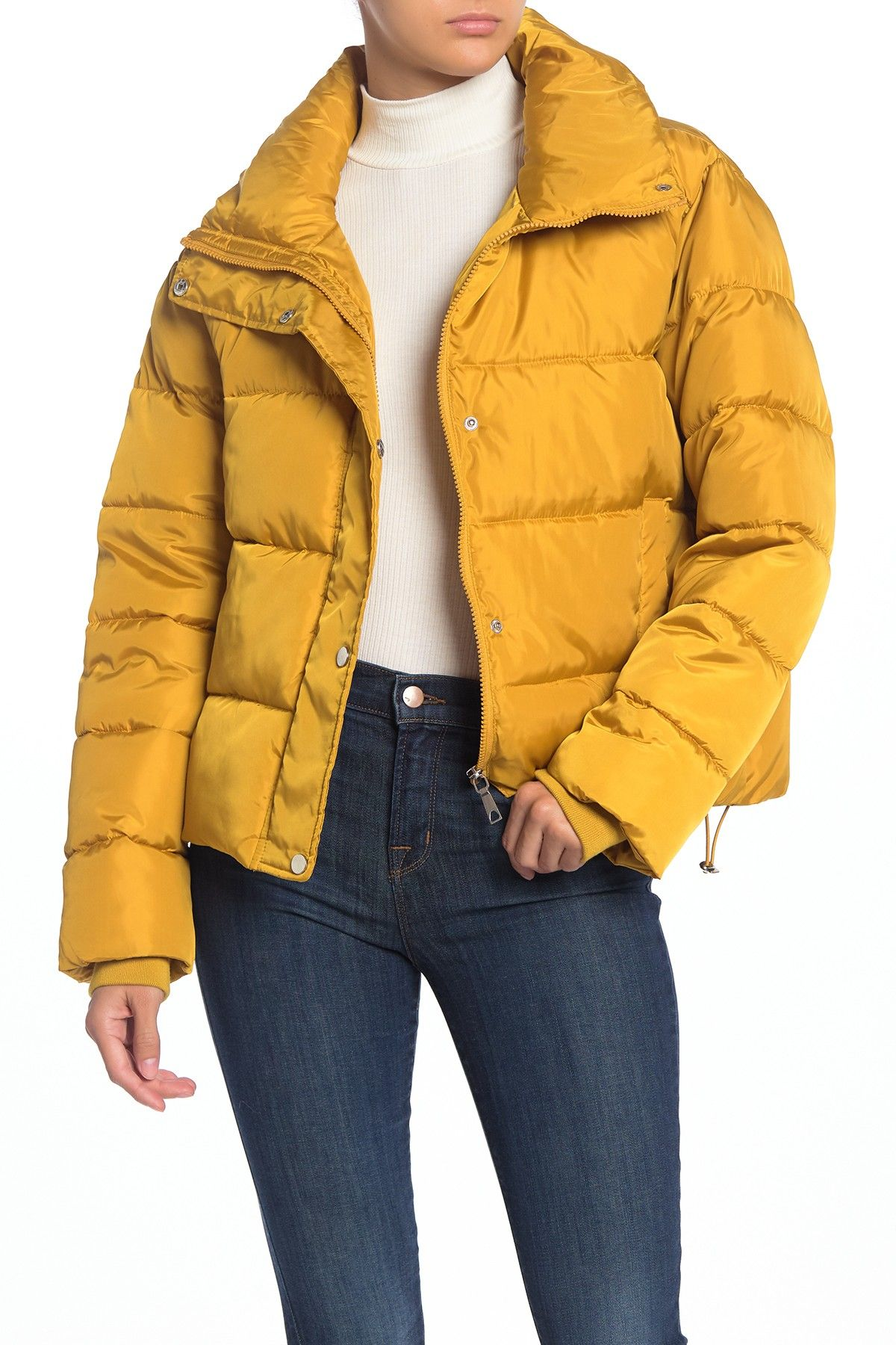 Sebby Short Fashion Puffer Nordstrom Rack Warm Puffer Jackets Fashion Jackets [ 1800 x 1200 Pixel ]