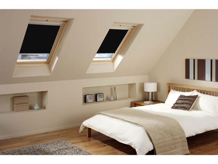 Een slaapkamer op de zolder is natuurlijk ideaal. het is natuurlijk