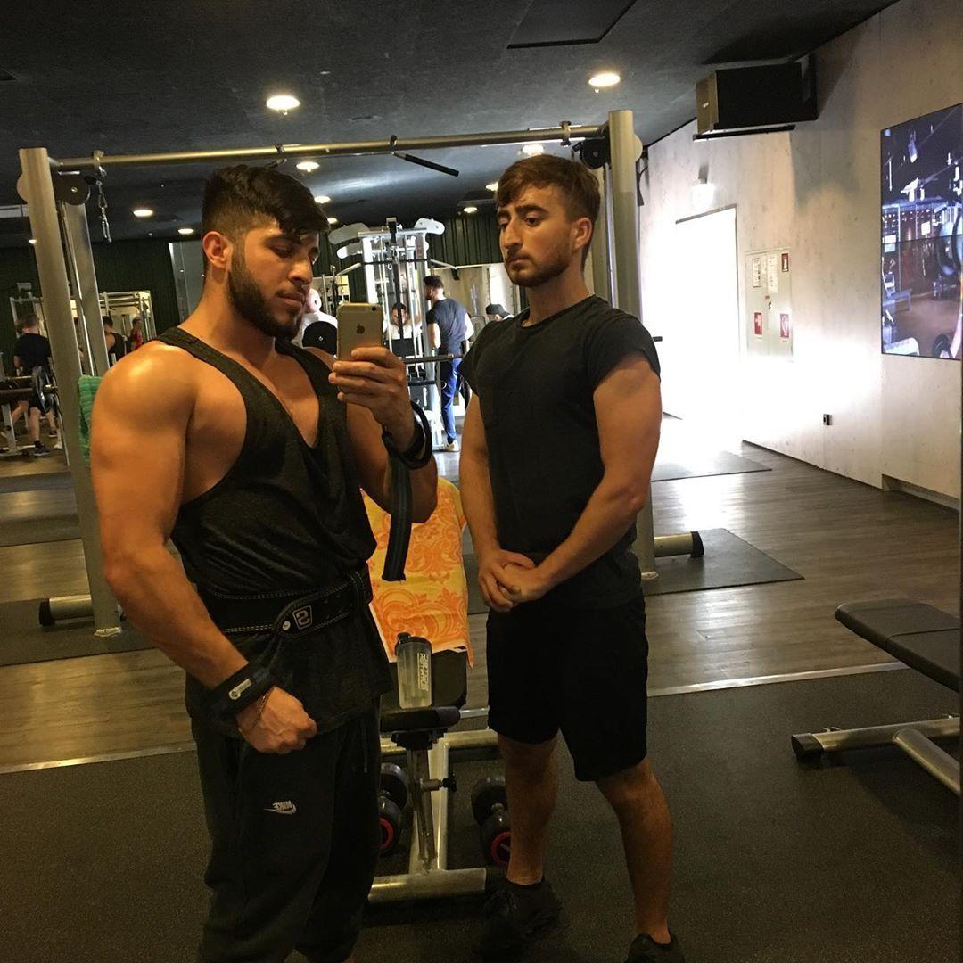 💪🏾 #mcfit #muscle #body #biceps #tricepsworkout #workout #fitnes #men #bodybuilder #germany #nürnber...