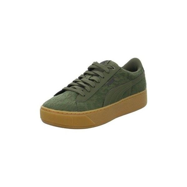 68e6b2744ebe Puma Vikky Platform VR Shoes (Trainers) ( 160) ❤ liked on Polyvore  featuring shoes