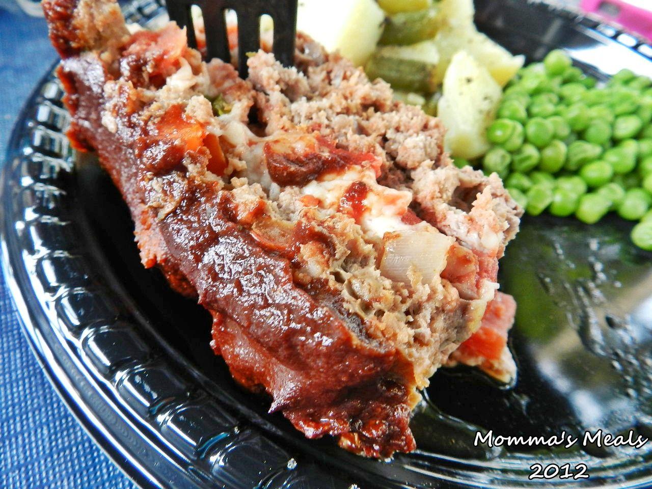 Caprese Grilled Meatloaf for #SundaySupper