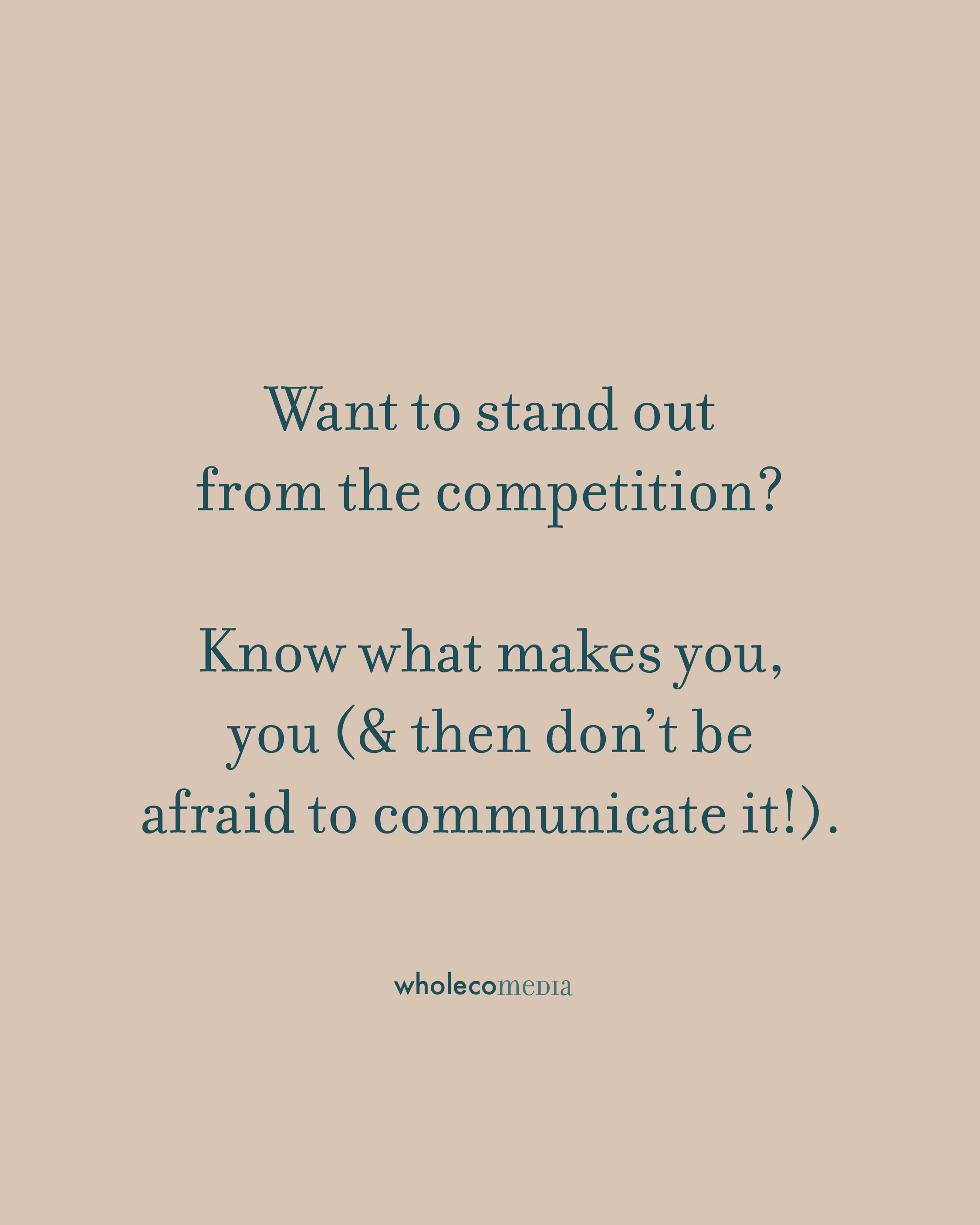 Stand out from the competition as a small business by building your brand strategy. #entrepreneur #smallbusinessmarketing #branding #creativeentrepreneur