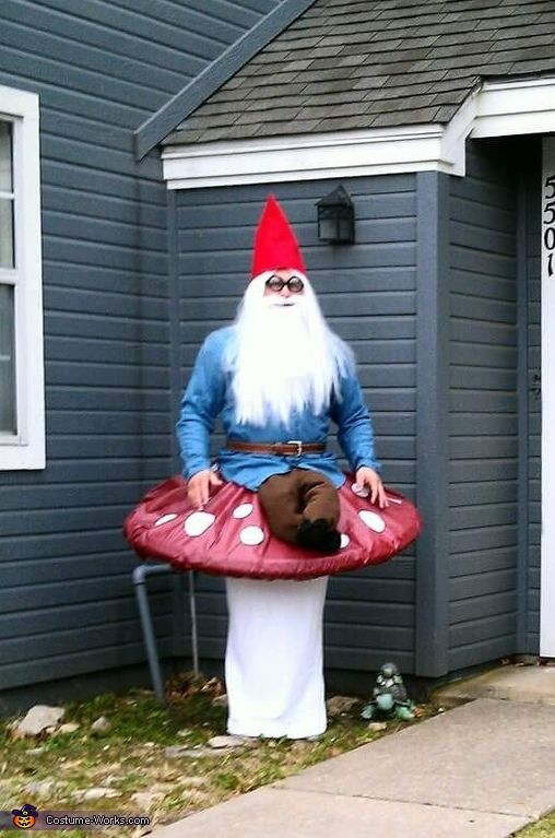 Garden Gnome - Halloween Costume Contest at Costume-Works.com #gnomecostume