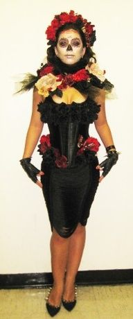 603d91153c5 My Halloween Costume! | Good idea | Halloween, Catrina costume ...
