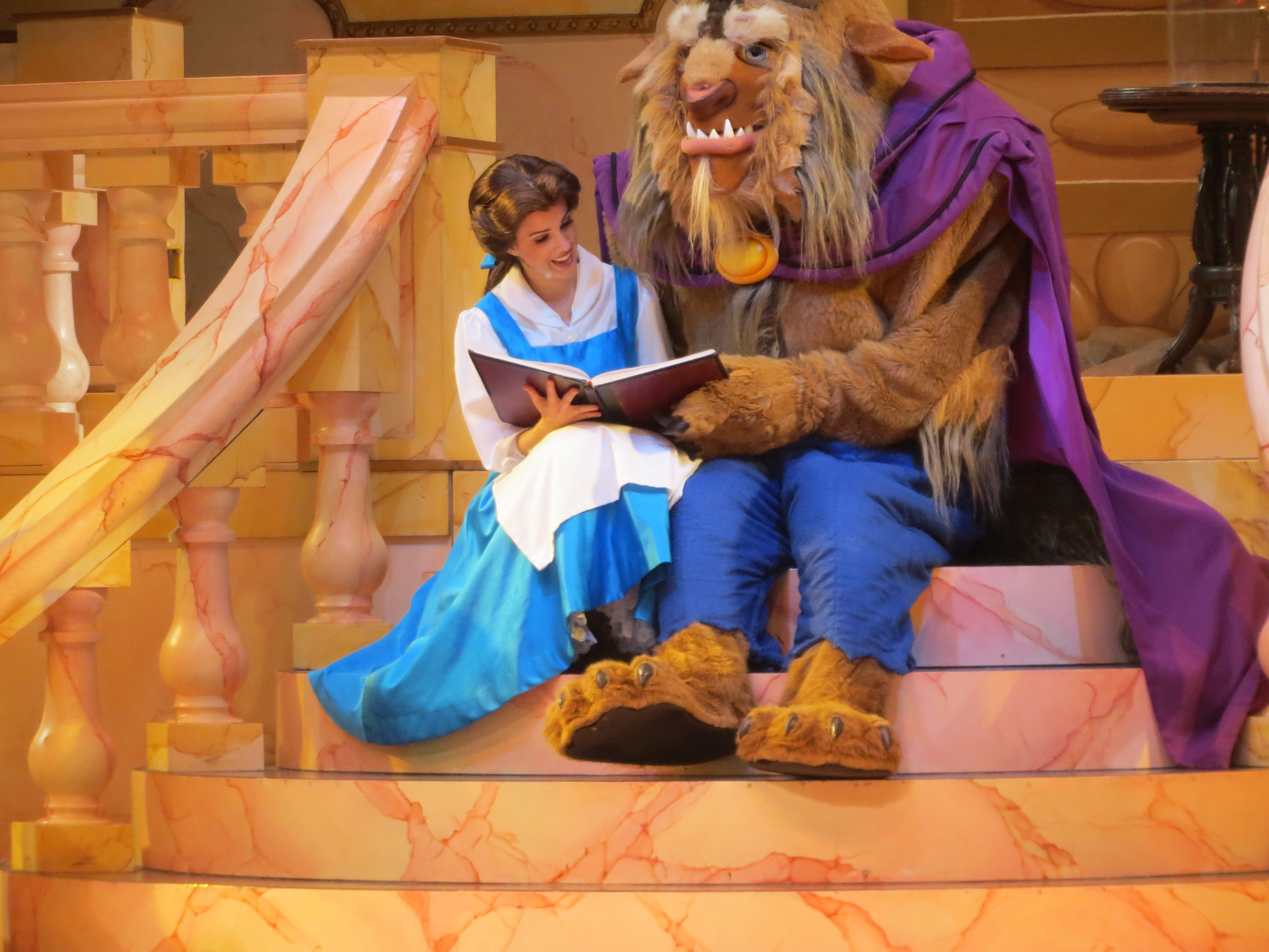 Beauty And The Beast At Hollywood Studios Disney World Belle With