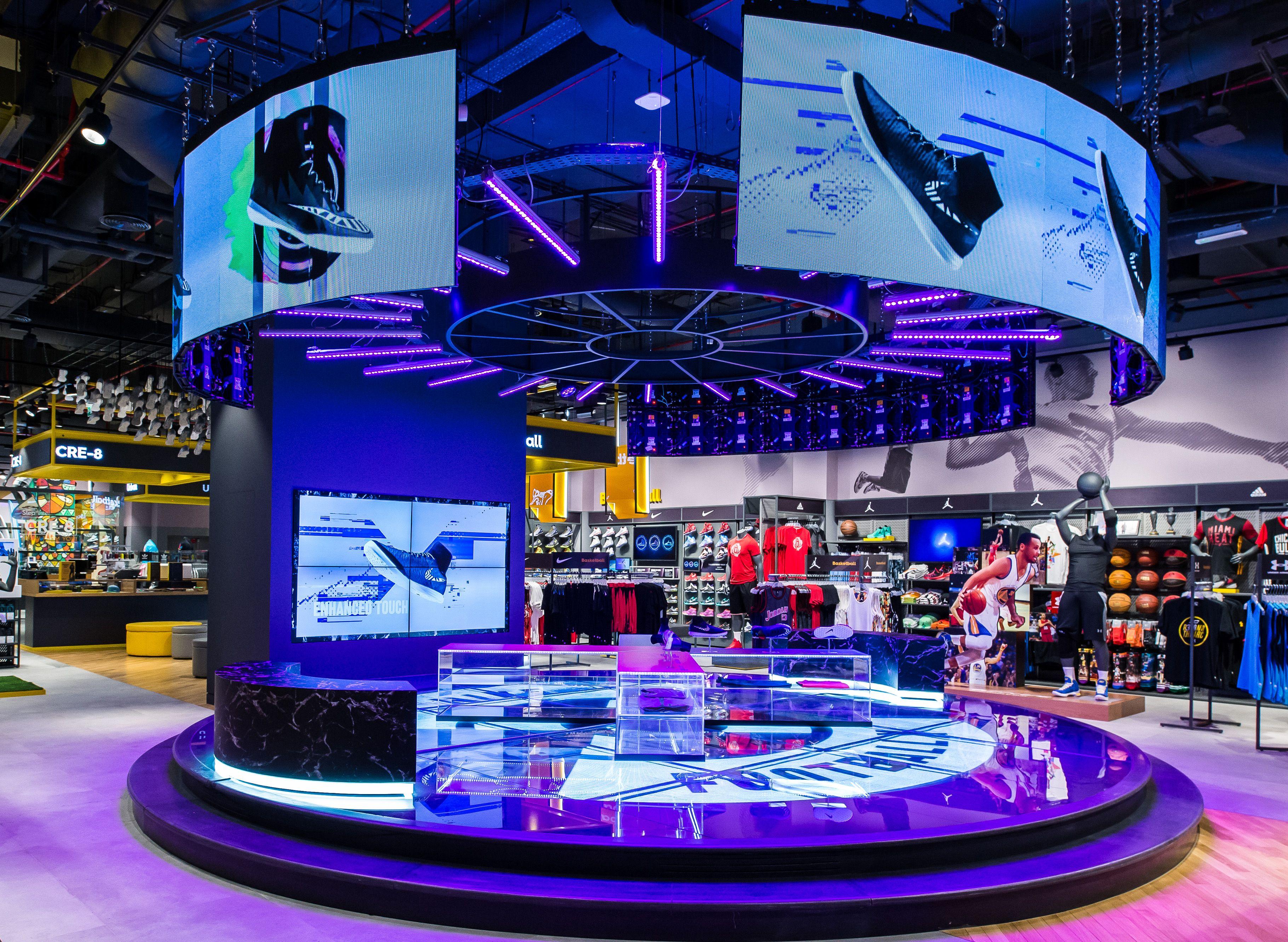 Sun & Sand Sports Store The Dubai Mall Central Event