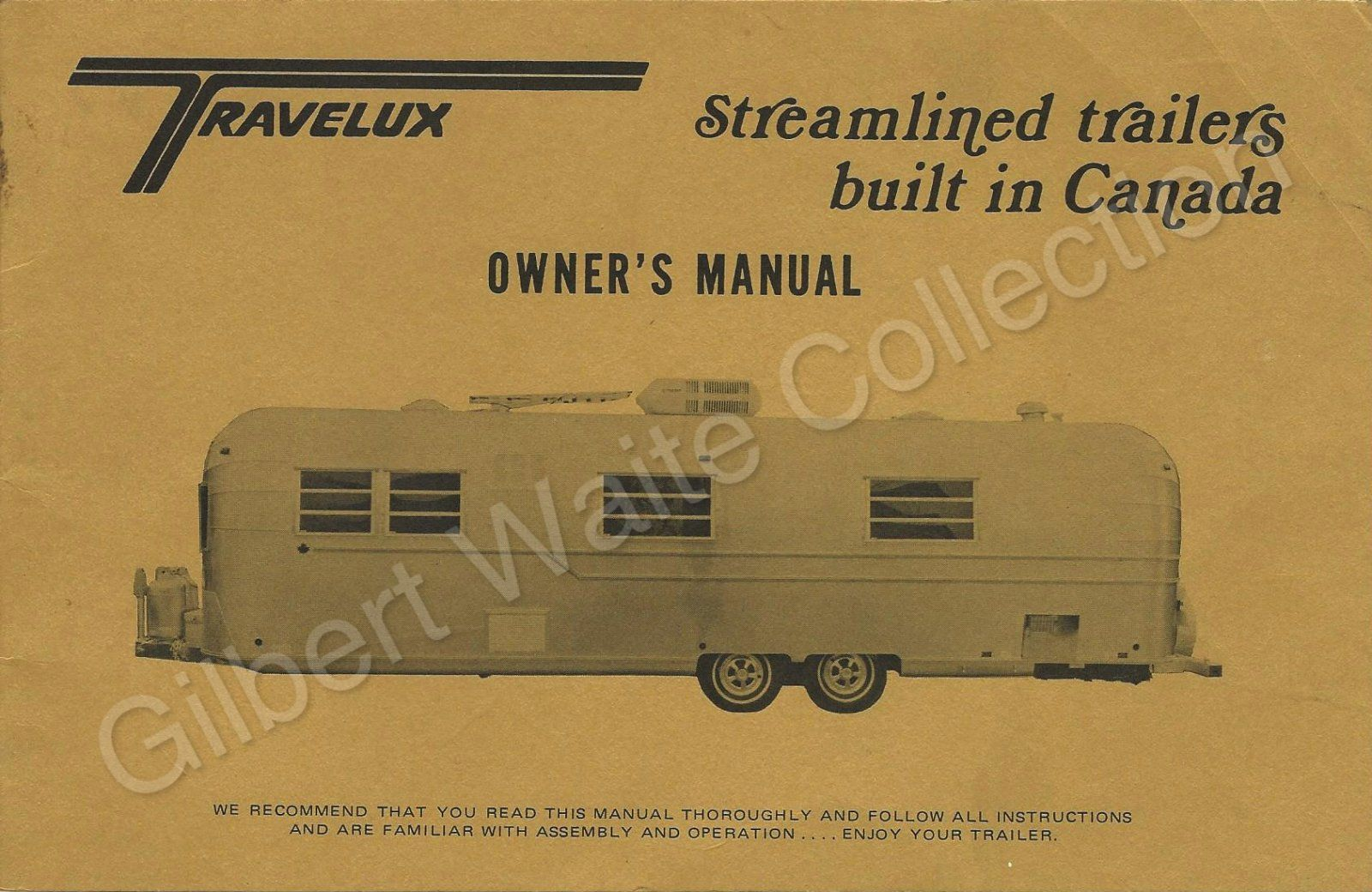 owners manual front cover jpg 1600 x 1040 83 vintage rv rh pinterest com Nissan UD 1800 Manual Shop Manual Online