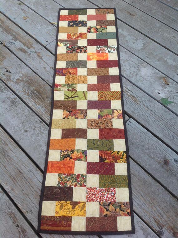Image Result For Fall Table Runner Pattern Charm Pack Thanksgiving Table Runner Fall Table Runner Patterns Quilted Table Runners Patterns