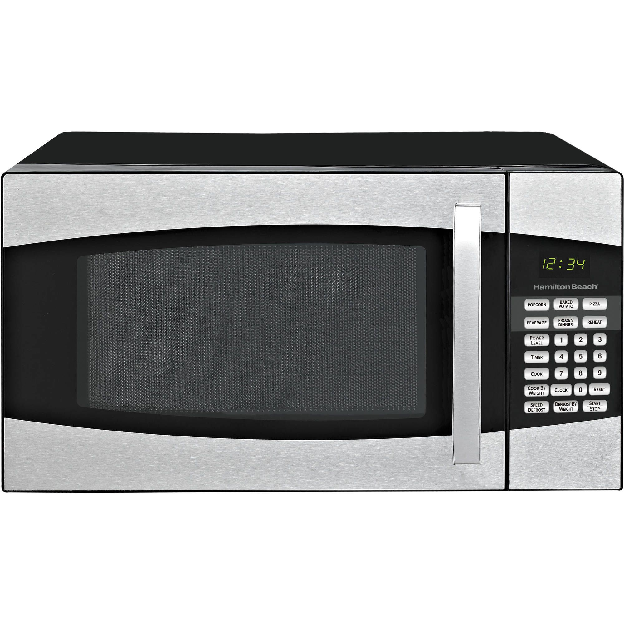 Hamilton Beach 0 9 Cu Ft Microwave Oven Black Bargain