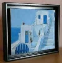 How To Frame Canvas Art Floating Canvas Frame Frames For Canvas