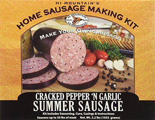 Mountain Jerky Original Summer Sausage Kit Make Your Own Sausage