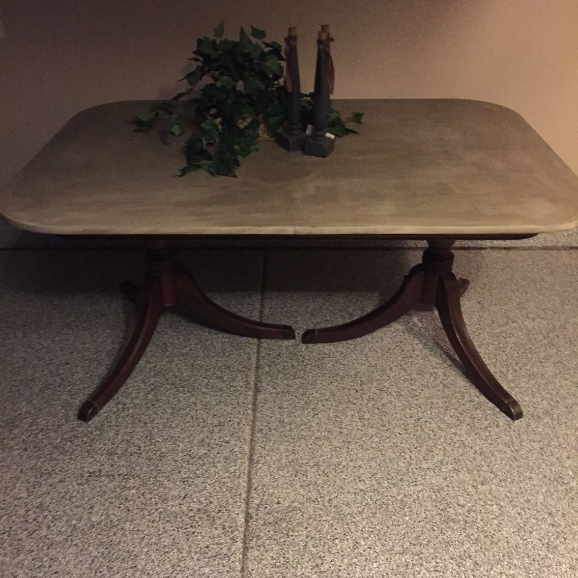 Table all wood done by Gilbert Boutique By Shelly