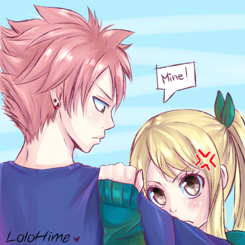 Mine by lolohime on deviantart fairy tail 3 pinterest fille manga manga et filles - Fille fairy tail ...