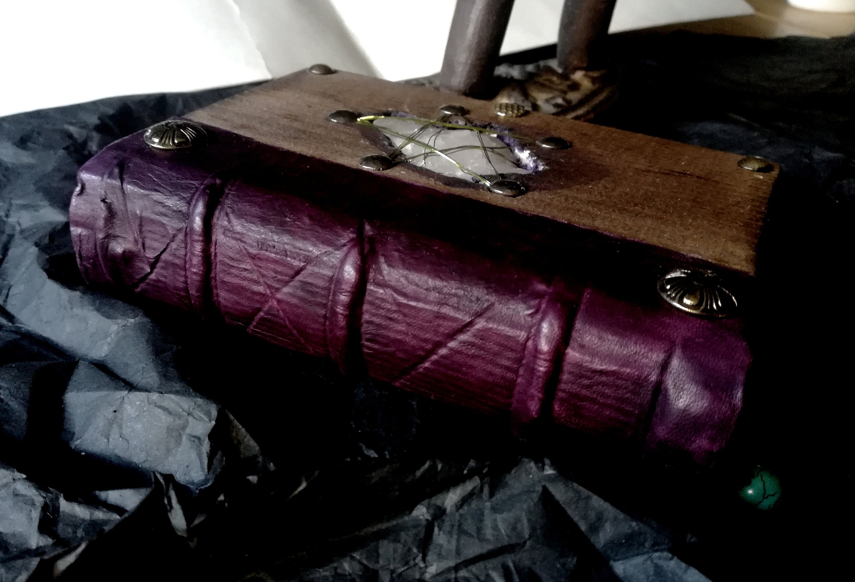 ROCK CRYSTAL stone , book of shaddows,grimoire, spellbook