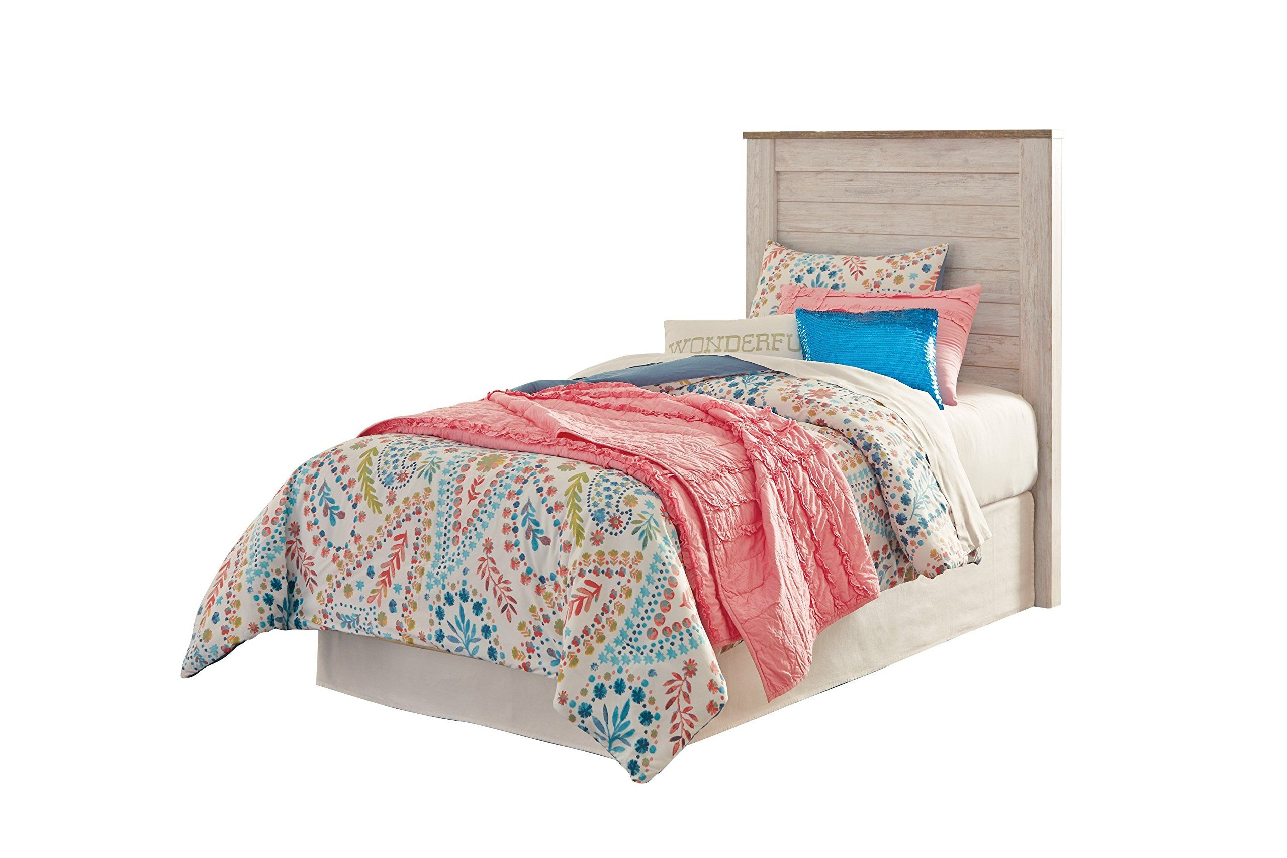 Ashley Willowton 5PC Twin Panel Headboard Bedroom Set With