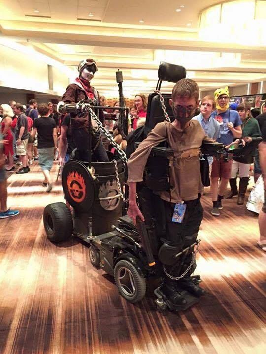Witness The Brilliance Of This Wheelchair 'Mad Max' Cosplay