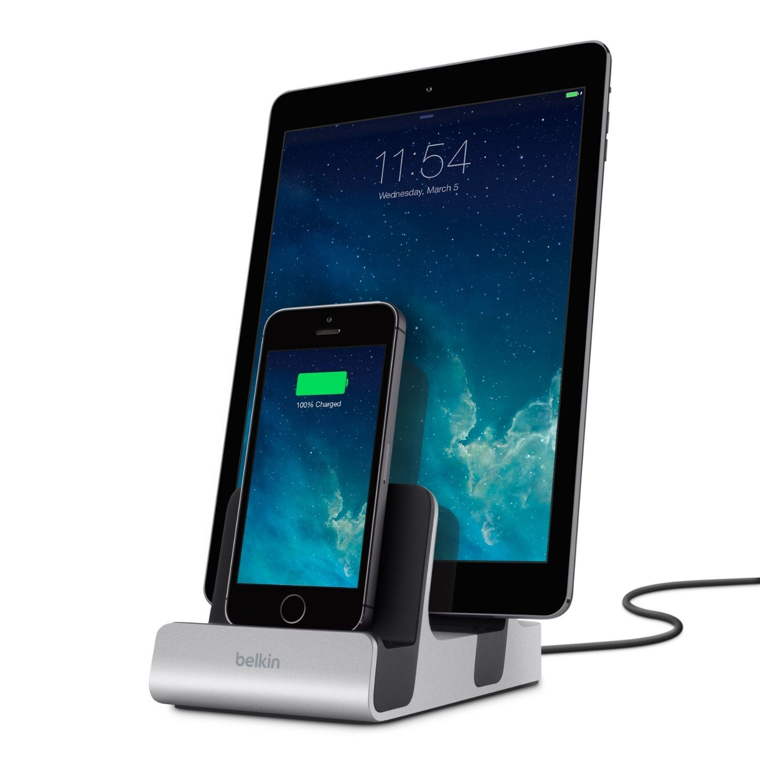 Amazoncom Belkin Power House Dual Lightning Charge And Sync Dock