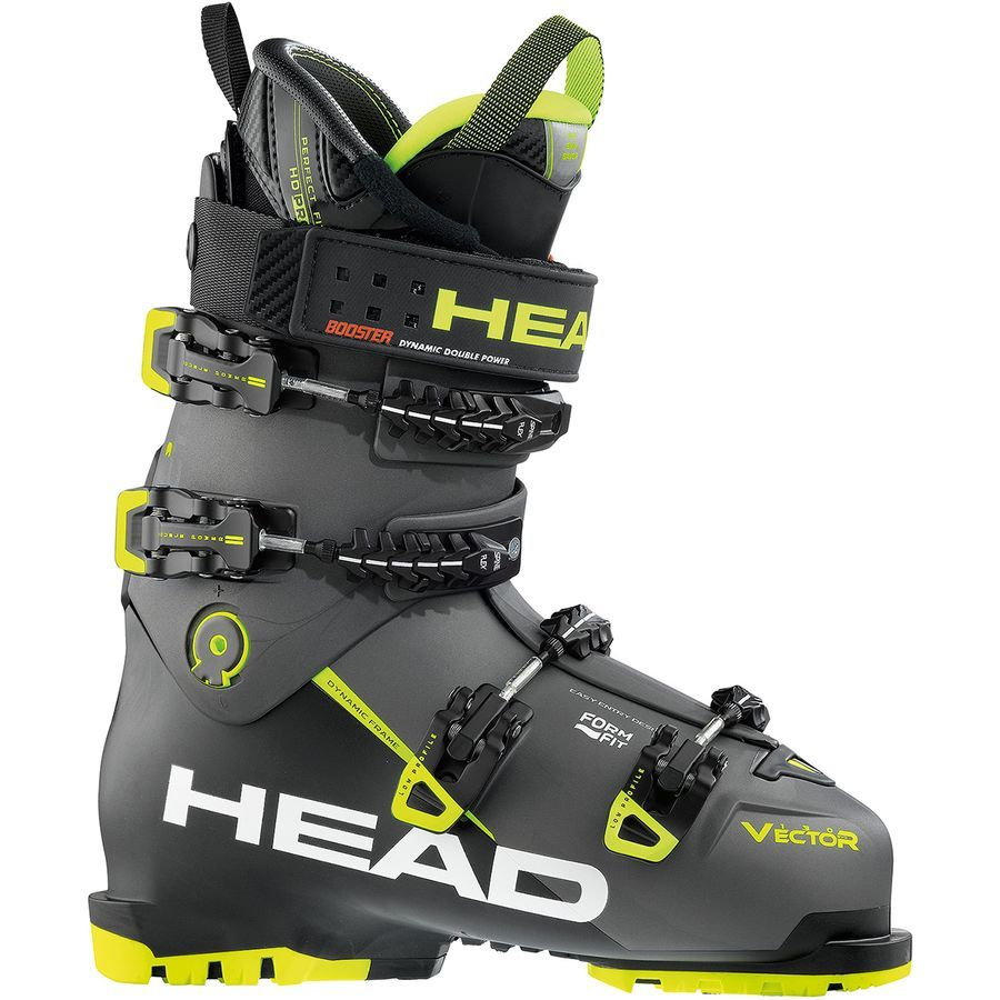46ad2b70916 Head Skis USA - Vector Evo 130S Ski Boot - Men's - Black/Anthracite-Yellow