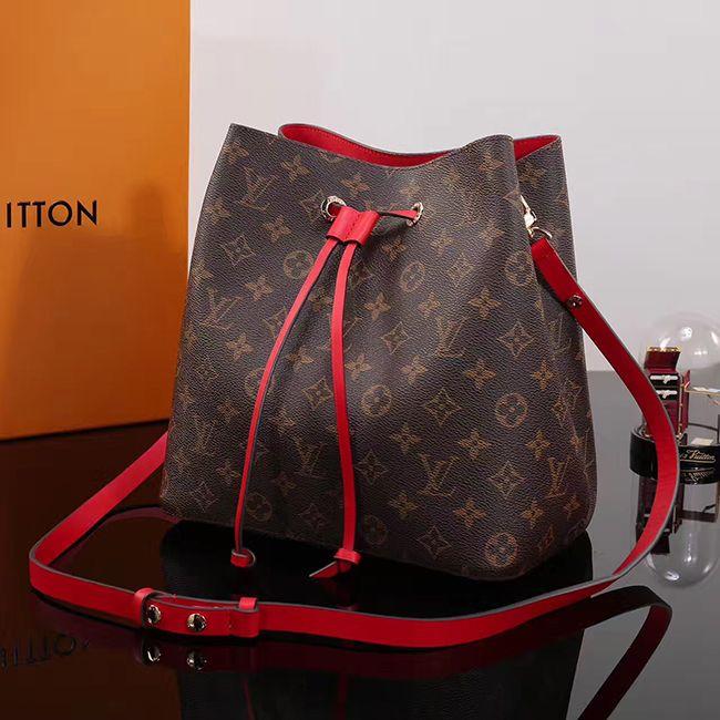 Lv Louis Vuitton Neo Noe Bag M44022 Coquelicot 272 00 Usd