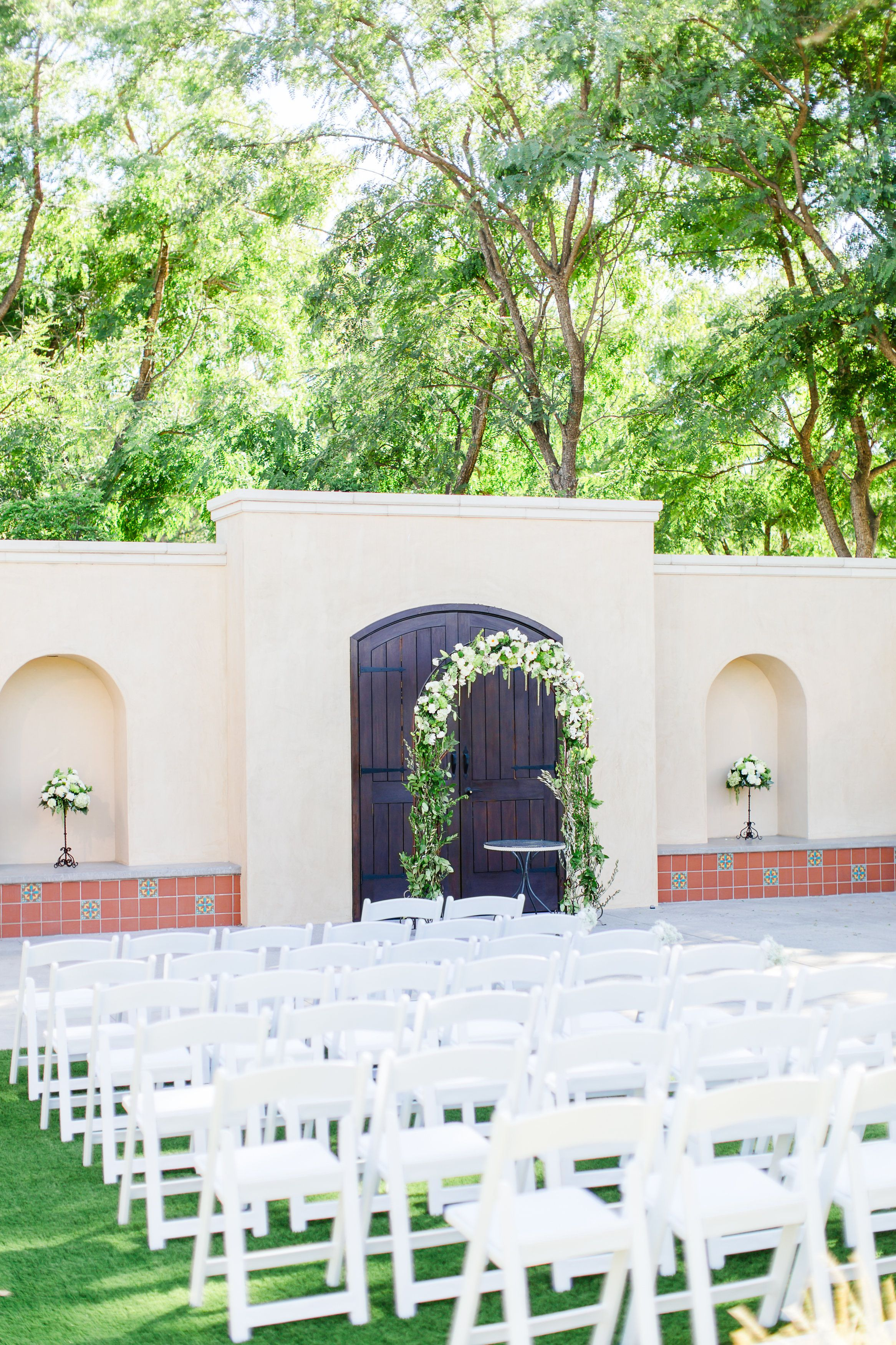 Outdoor garden wedding decoration ideas  The Gardens at Los Robles Greens  Gardens Wedding venues and Weddings