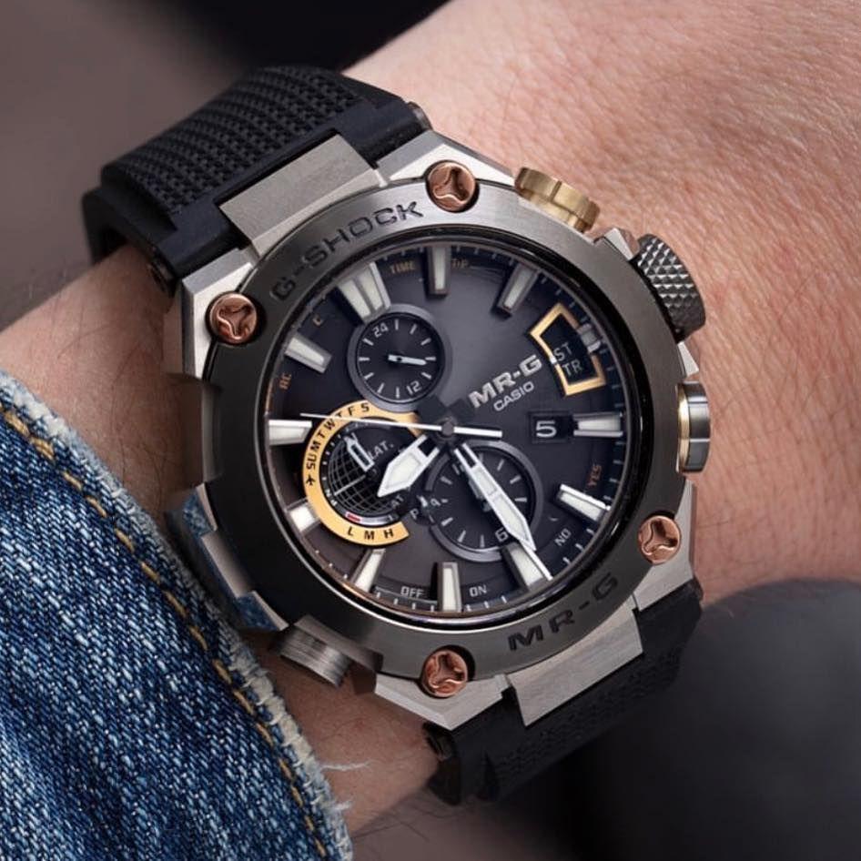"a70d3a45df0 G-Shock Australia on Instagram  ""Tough Luxury  MRGG2000  GShock ..."