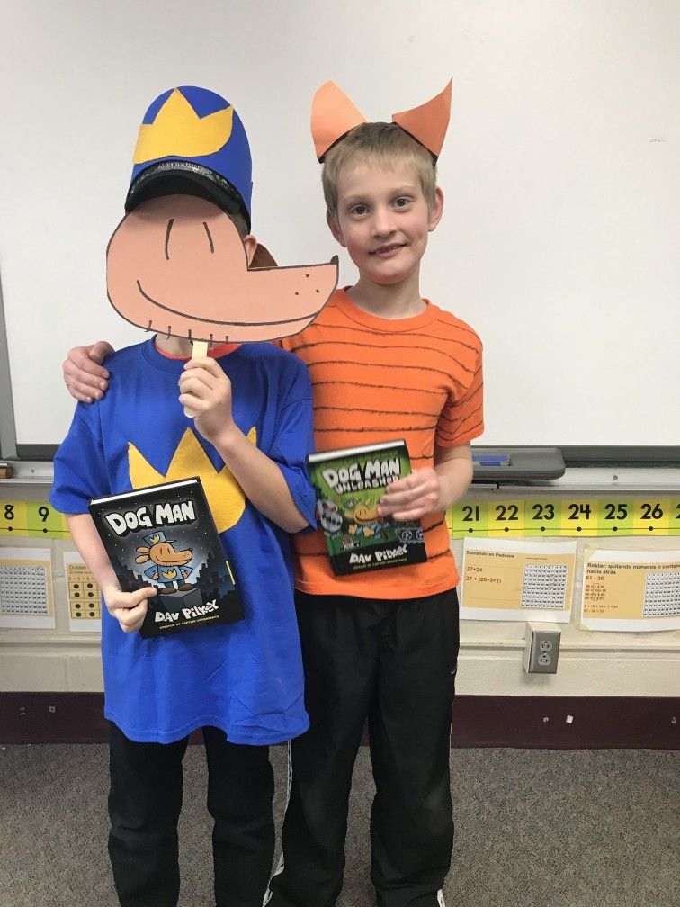 Dog Man And Petey Costumes For The 2nd Grade Book Parade Story