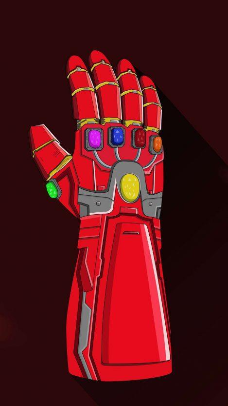 Iron Man Nano Infinity Gauntlet Iphone Wallpaper Free Getintopik Iron Man Iphone Wallpaper Wallpaper