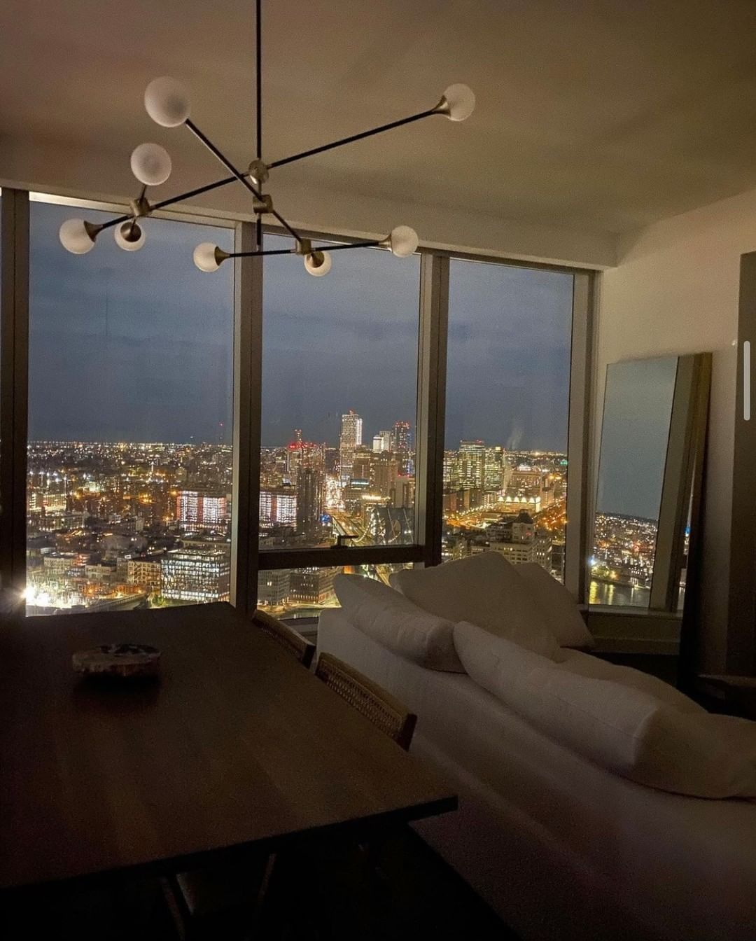 Real Nyc Apartments On Instagram Stunning City Views Cassdimicco Nyc Newyork Newyorkcity Ny Man In 2021 Dream Apartment Apartment View My Dream Home