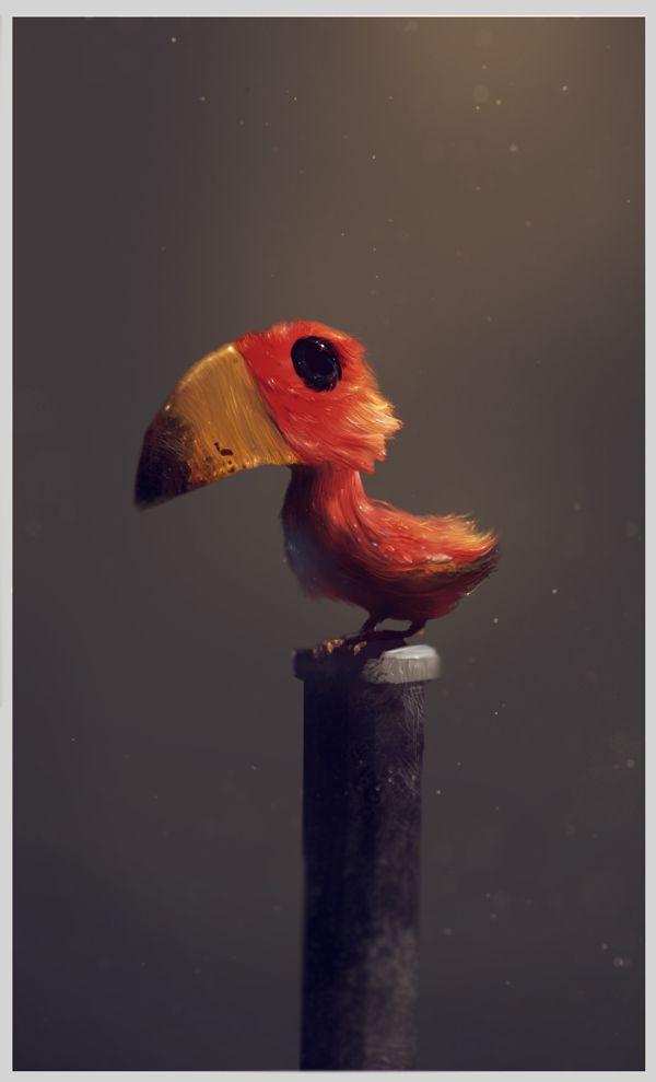 CREATIMALS by Giovanni Grauso, via Behance