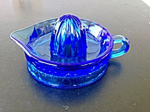 100th Anniversary Cobalt Blue Sunkist Reamer