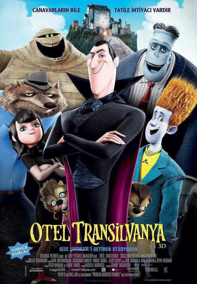 Otel Transilvanya 3D Hotel transylvania, Film, Oteller