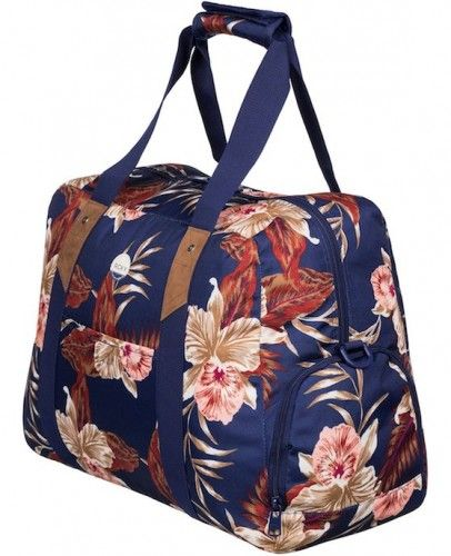 Torba Na Ramie Roxy Sugar It Up Castaway Floral Blue 29l Bags Gym Bag Duffle