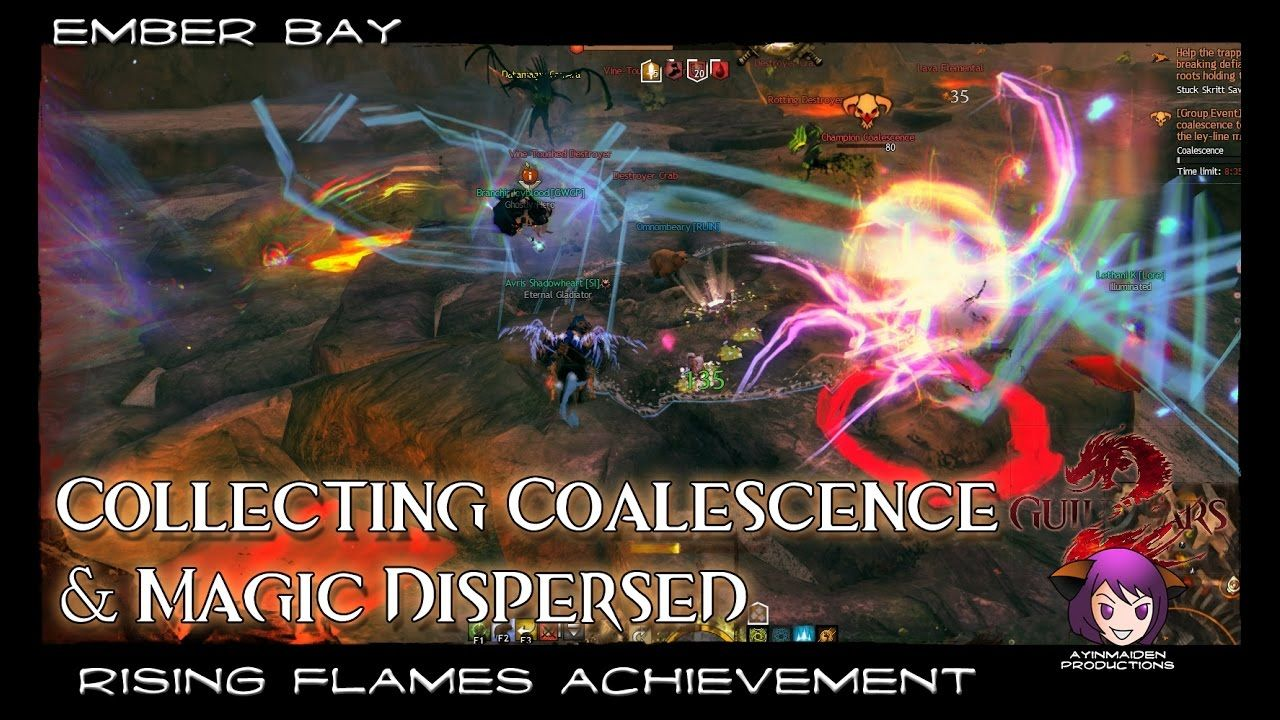 Collecting Coalescence & Magic Dispersed