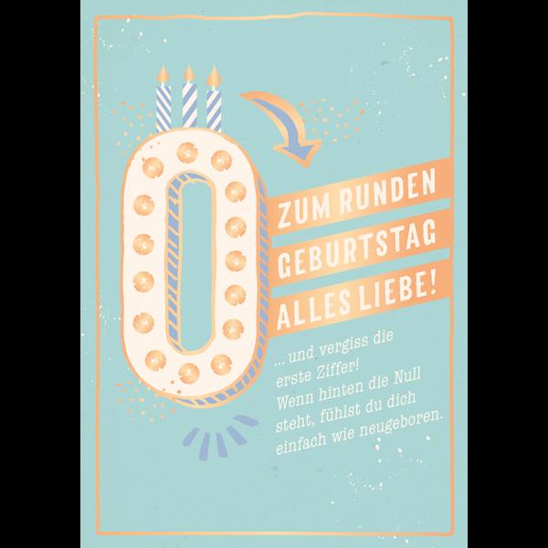 Spruch Zum Runden Geburtstag