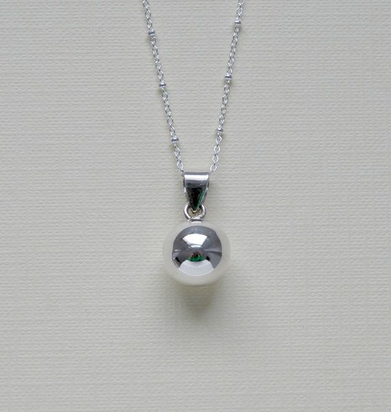 Harmony ball necklace sterling silver harmony ball pendant musical harmony ball necklace sterling silver round musical chime bola pendant charm satellite pregnancy aloadofball Image collections