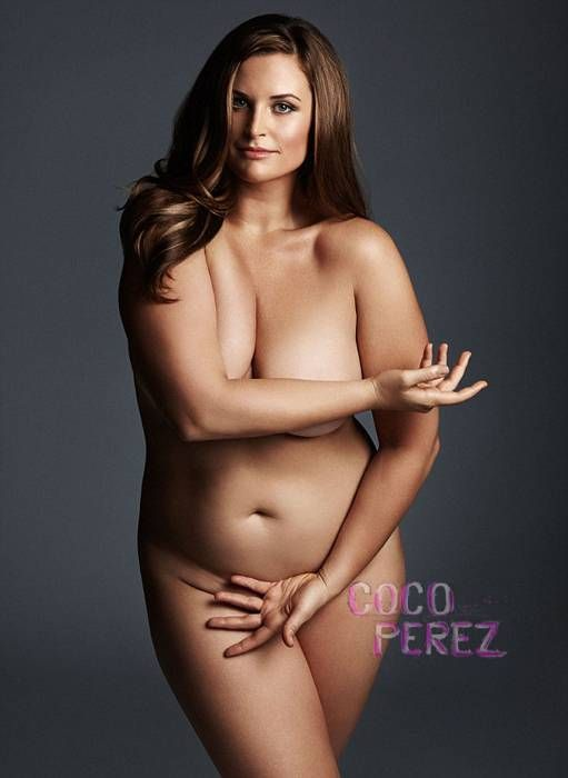Topless plus size models — img 11
