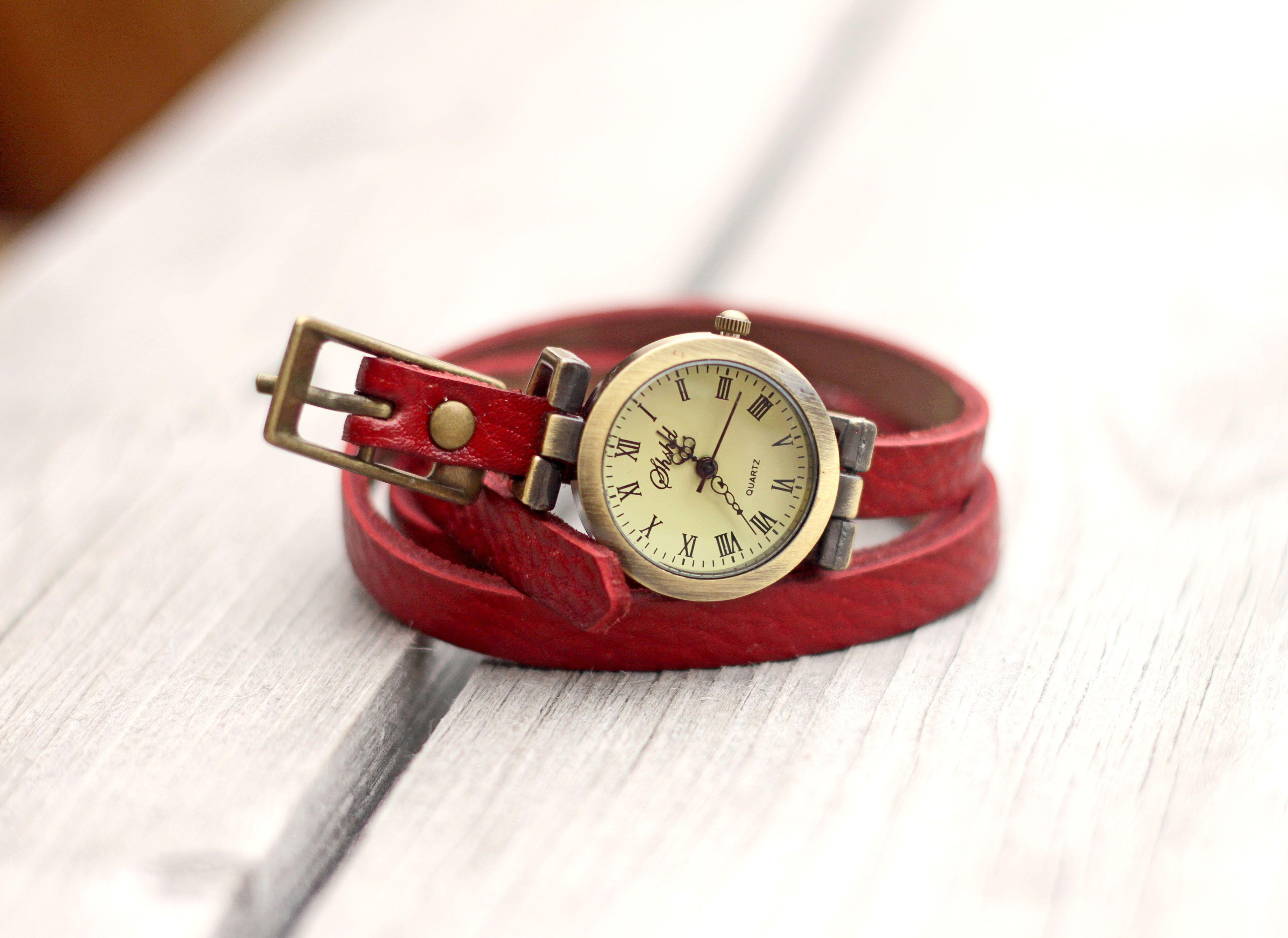 Vintage Wrap Watch Vintage Wraps Leather Watch Jewelry Making