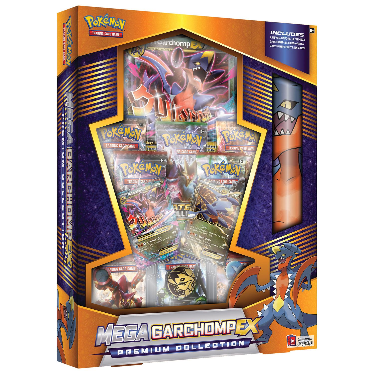 Pokémon Trading Card Game Mega Garchomp EX Premium Collection