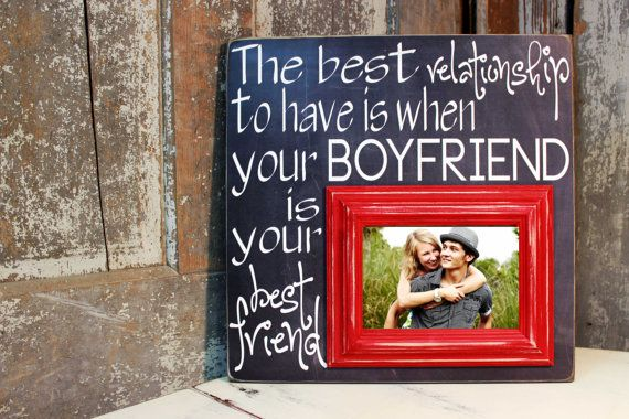 Personalized Picture Frame Wedding Gift, Bride to Groom Gift ...