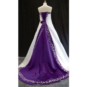 Purple and white wedding dresses wedding dress ideas pinterest purple and white wedding dresses junglespirit Image collections