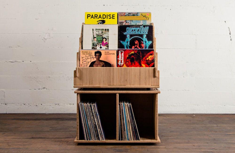Hi Phile Record Cabinet: Das Plattenregal zum Zusammenstecken ...