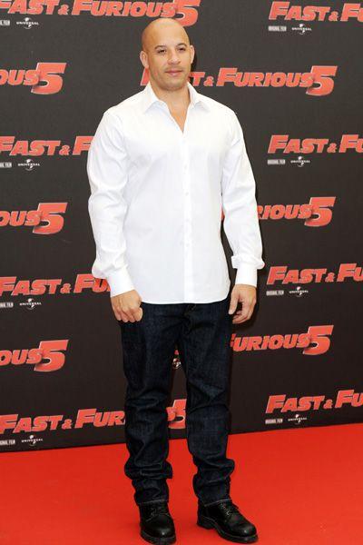Vin Diesel and Paul Walker are Fast Five cuties