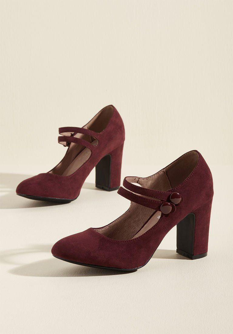 6c1c3598c5a3 Chelsea Crew Strappy Tappin  Mary Jane Heel in 36 - Mid Heel - Over 2 -3 by  Chelsea Crew from ModCloth