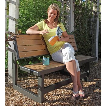 Lifetime Convertible Patio Bench Converts From Into A Table At Costco 149 99