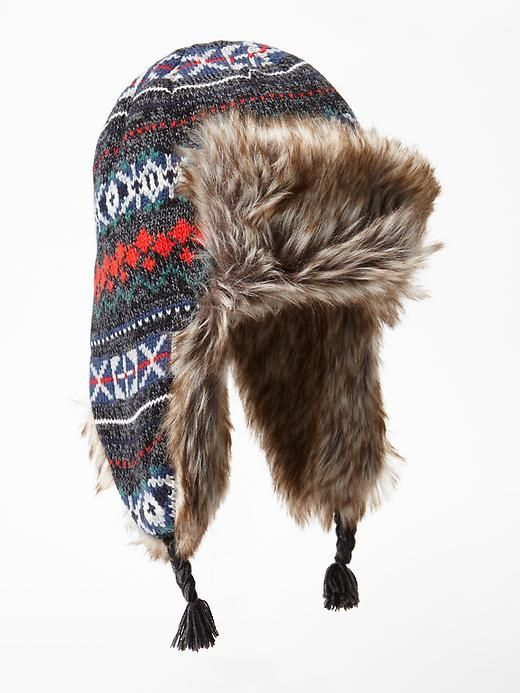 Fair isle trapper hat Product Image | Outerwear Obsession ...