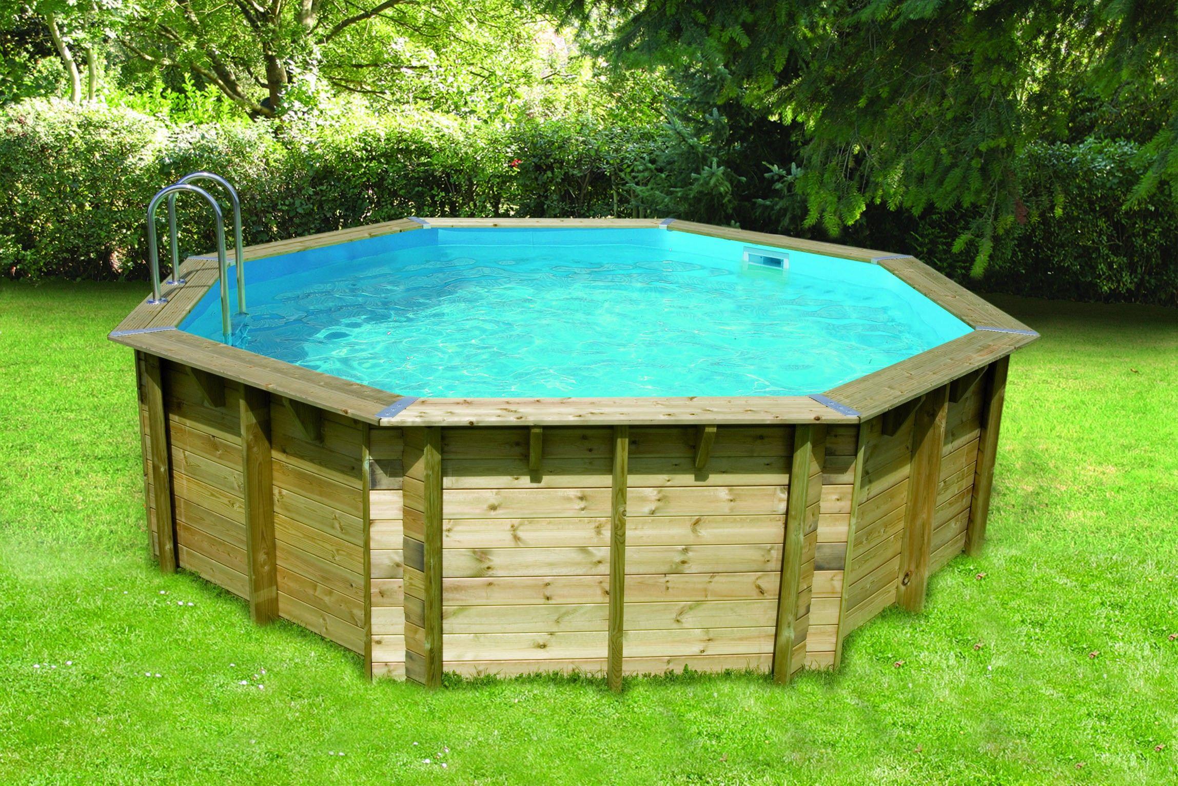piscine bois 90 cm