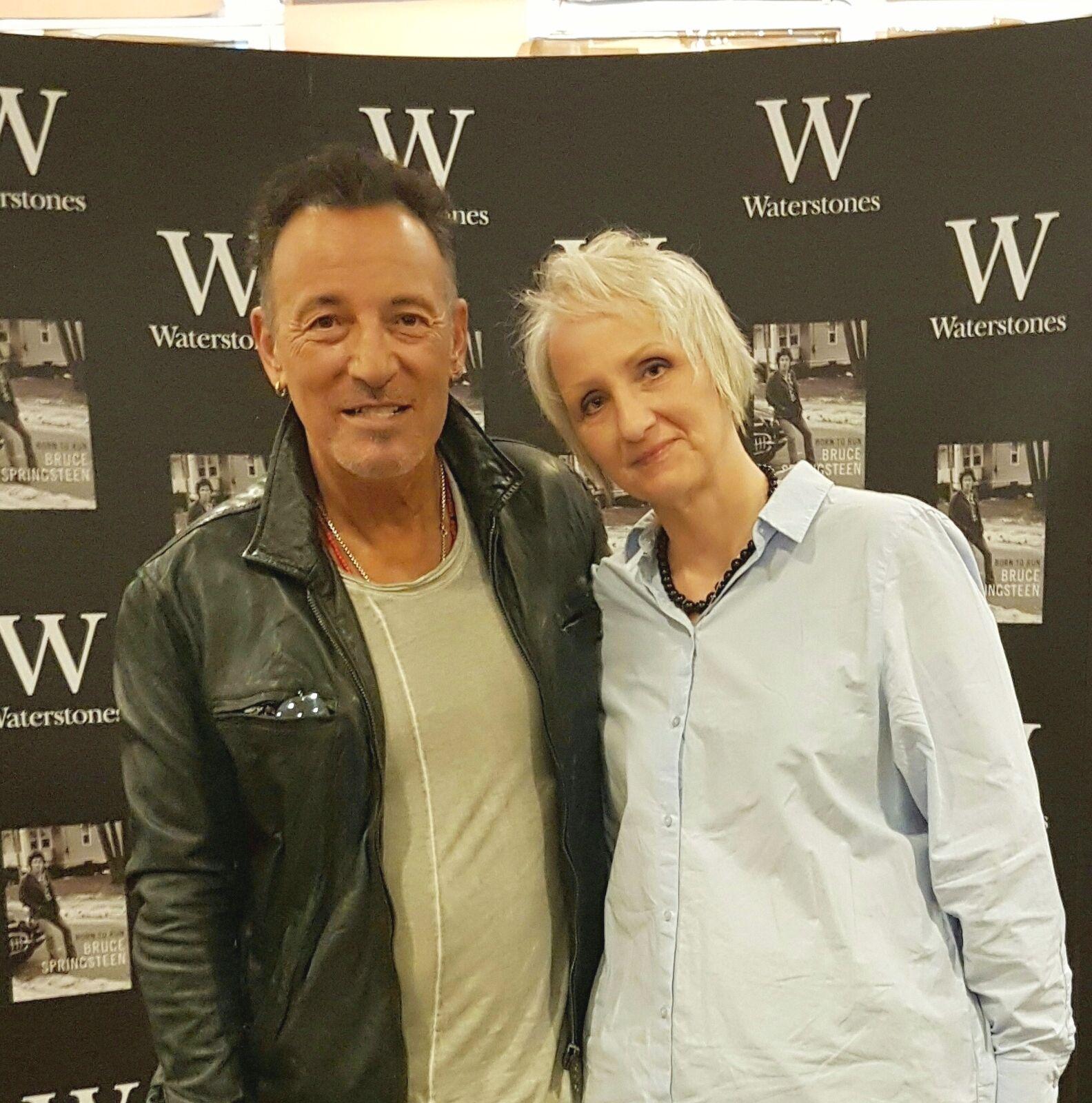 Pin Af Sari Anita Tummler Pa Bruce Springsteen